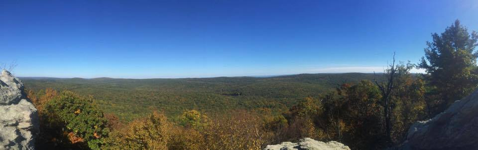 Chimney Rocks, Michaux State Forest