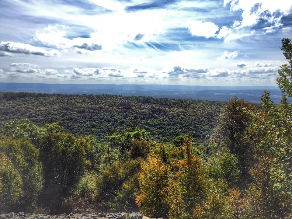 View from Ironstone Loop Trail