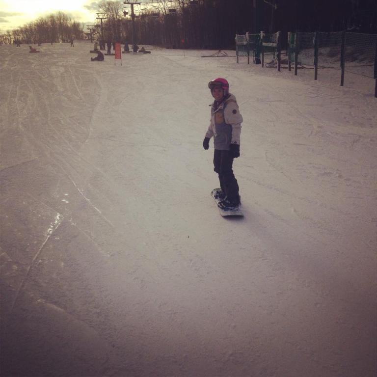 snowboarding Whitetail Resort