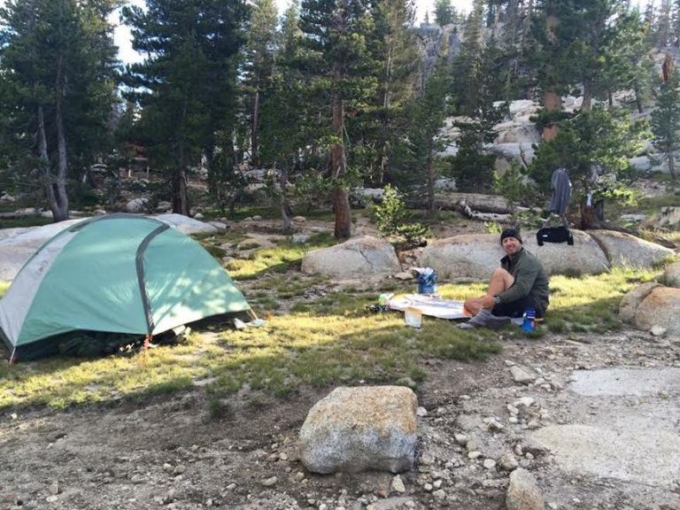 Sunrise Lakes Camp Yosemite
